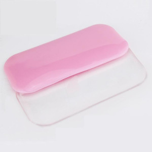 Eyelash Extension Tool Silicone Crystal Glue Adhesive Pallet Pad Holder for Eyelashes Extensions Glue Pad Gasket Makeup Tool