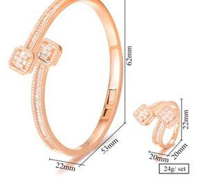 missvikki Superfein African Nigerian Armband Ring Sets Schmuck-Set für Frauen Hochzeit Brincos para als mulheres