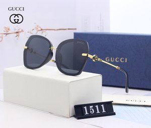 glasses designer sunglasses for men women rimless rectangle sunglasses Heart shaped glass metal frame with boxes Oculos Masculino KLY150