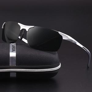 Фотохромные солнцезащитные очки мужские очки Водители автомобилей Очки ночного видения Антибликовый поляризатор Солнцезащитные очки Поляризованные солнцезащитные очки