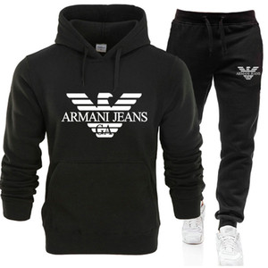 Luxuryer Herren-Designeranzug Damen Herren Pullover + pants Herrenmode Sweatshirt Pullover beiläufige Tennis Sport Tracksuits Trainingsanzüge