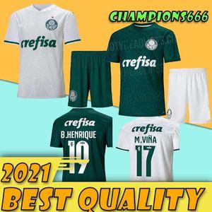 adult kit 2020 Palmeiras soccer jersey home away 20 21 Deyverson Willian Deyverson Lucas Lima Dudu footballl shirts camiseta de futbol
