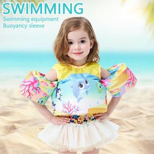 لطيف الكرتون للأطفال الحياة سترات السباحة سترة نجاة رغوة سترة السباحة لجهاز التعويم الأطفال للالبركة اكسسوارات بيتش