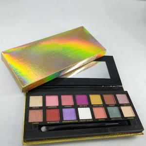 14colors sombra EYESHADOW New est Hot Makeup Palette Marca de olho Paleta gratuito shapping
