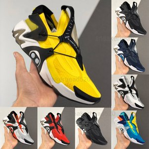 2020 ADAPT Huarache Racer Azul Running Shoes Homens Amarelo Preto NMD huaraches Sneakers Designer raect Hurache Trainers