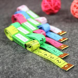 Precio de fábrica 60 Pulgadas 150 cm Tienda de Regalo Regla Suave Costura Sastre Regla de medición Herramienta Niños Paño Gobernante Sastre Cuerpo Cinta métrica Herramientas