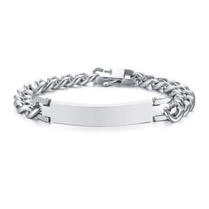 9mm argento colore moda semplice da uomo braccialetto bracciale in acciaio inossidabile gioielli regalo per gli uomini ragazzi J070