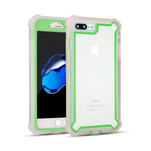 Pour Motorola G7 Puissance Huawei P30 P20 Lite Pro P Smart 2019 Hybride Combo 3 en 1 Défenseur Effacer Retour Panneau De Protection Cas de Téléphone Couverture
