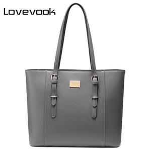 borsa a tracolla della borsa delle donne LOVEVOOK per le signore dell'ufficio grandi borse laptop tote per 14/15. 6 pollici Donne Borse Design