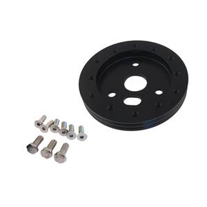 1,375 '' de aleación de aluminio de dirección adaptador del cubo de rueda Spacer Pad Gasket 6 agujero para 3 Agujero