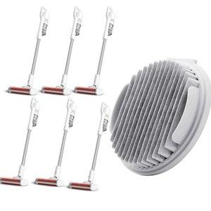 Filtros Smart Wireless Handheld Vacuum Cleaner Parts Filtros Branco Domissanitários Vacuum Cleaner Parts Poeira Remoção