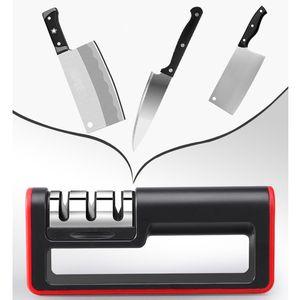 Sacapuntas maneta Cuchillo Muela de aleación dura afilador de cuchillos de cerámica Grueso Fino Piedra de afilar herramienta de la cocina DBC DH1021-1