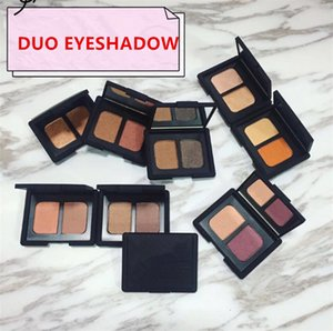 NAS مستحضرات التجميل لوحة Duo Eyeshadow Bronzer 1.1g Palettes Eye Blush Foundation Shadow X2 Makeup Cotour Maquillage RXDTF