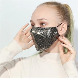 Sexy Sequin Masques bouche de protection spéciale style visage respirateurs hommes et les femmes utilisent Four Seasons Direct Selling 6 5HY H1