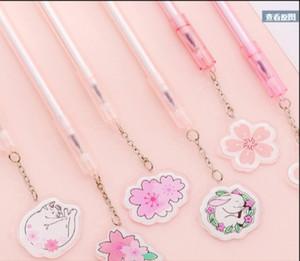 Bola Cat criativa dos desenhos animados Kawaii Pen melhor presente para as crianças de papelaria Assinatura uma caneta esferográfica Escola Fornecedores de moda