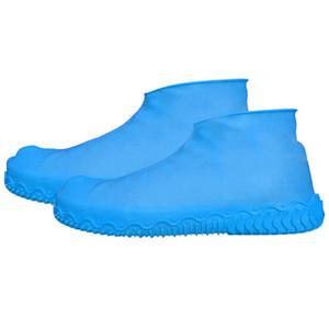 السيليكون الجرموق المطر حذاء يغطي ماء التمهيد الغطاء الحامي لإعادة التدوير أحذية المطر الرجال والنساء الأحذية