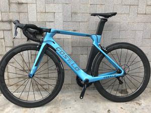 2019 Costelo Aeromachine une pièce monocoque bicyclette complète vélo de carbone cycliste de disque completo de moule bicicletta R8000 groupe r8020