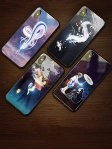 Designer Phone Case Luxury Designer Phone Cases iphone 11 Pro Max iPhone Mobile Phone Glass luminous Protective Case