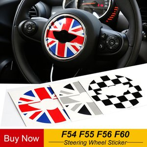 자동차 스티어링 휠 스티커 장식 미니 쿠퍼 JCW F54의 F55의 F56의 F60 자동차 스타일링을 커버