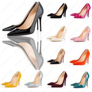 Avec Hot Box Vente-Designer Toe 2-Pointu Sangle avec de hauts talons Goujons rivets en cuir verni sandales femme Chaussures valentine Chaussures hauts talons