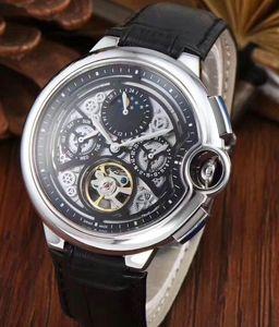 2020 новый черный автоматический турбийон топ мужчины спортивные мужские механические часы из нержавеющей стали мужские часы с автоподзаводом наручные часы