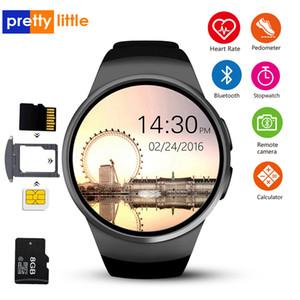 KW18 inteligente reloj de pulsera teléfono conectado para Samsung Xiaomi androide de la ayuda monitor de ritmo cardíaco llamada Messager SmartWatch