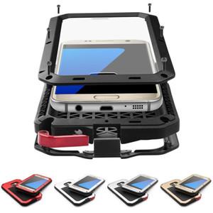 Custodia in metallo Custodia antiproiettile Custodia resistente per cellulare Custodia per Samsung Galaxy S5 S6 S7 Edge S8 S9 Plus Nota 9 8 5 Custodia antiurto