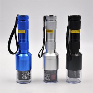 Фильтр Автоматического Дым Grinder Металл Электрической Большой фонарик Измельчители 3 цвета сигареты Дробилка нового дизайн 17 4yh E1