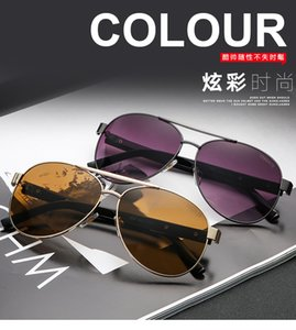 classic For Men Popular designer sunglasses Retro Vintage Shiny Gold Summer Style Laser Gold Plated UV400 Eyewear come