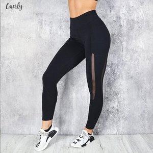 Mesh Women Pocket Fitness Leggings High Waist Legging Femme Mesh Patchwork Workout Leggings Feminina Jeggings Good Quality