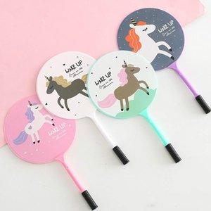 50 unids / lote Corea Unicornio Creativo Aficionado Pluma Bolígrafo Papelería de Oficina Regalo de Los Niños Imagen Animal Papelería Útiles Escolares