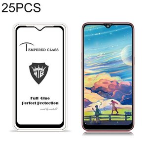 For Galaxy Note 10 Lite 25 PCS MIETUBL 9H Full Glue Full Screen Tempered Glass Film