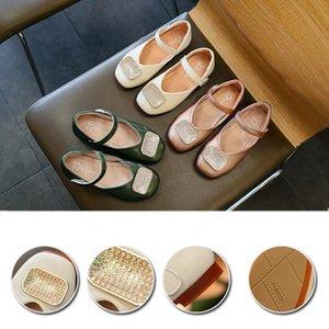 Kızlar Rahat Prenses Ayakkabı Bebek Çocuk Bebek Deri Casual Tek Sandal schuhe kinder 2020 için MUQGEW Yeni Çocuk Ayakkabı