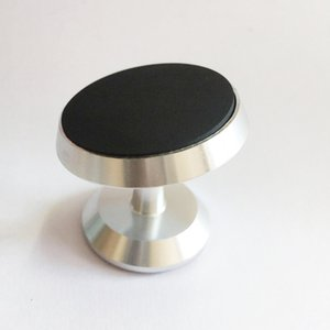 New Magnetic Car Mount Holder Stand 360 Degree Alloy Rotation phone Stand holder for cell phone gps Factory Supply
