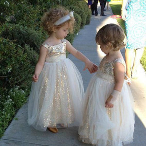 Cute Communion Dresses Sleeveless Kids Puffy Prom Party tulle Ball Gown For Girl Aged 2 3 4 5 6 Years