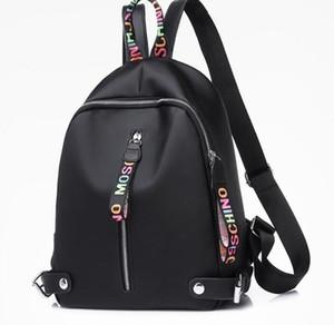 sac à dos de designer pour les femmes filles grande capacité sacs à dos en nylon avec noir blanc rose 3 couleurs de haute qualité Sac à dos Drop Shipping
