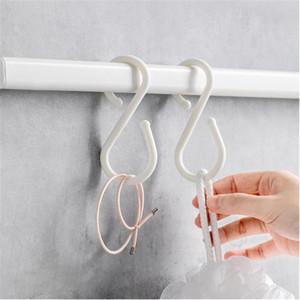 Xiaomi Youpin JJ 10Pcs S-Form-Doppelhaken Weiß Kleiderbügel Haken Rails für Badezimmer-Küche Schlafzimmer 3011875