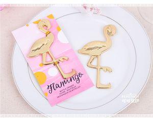Flamingo Wein Flaschenöffner Hochzeitsfestbevorzugung Geschenk Gastgeschenk destapador de botellas