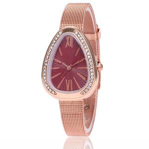 2018 nueva pulsera de aleación WISH muñeca Guo Huang red de comercio exterior modelos de explosión caliente damas reloj coreano regalo de cumpleaños reloj de dama reloj