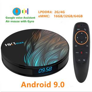 HK1 MAX RK3318 الروبوت 9.0 TV BOX 4K يوتيوب جوجل مساعد 4G 64G 3D TV فيديو استقبال واي فاي لعب مخزن مجموعة سمارت أعلى TV صندوق