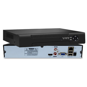 كشف الحركة H.265 الدوائر التلفزيونية المغلقة NVR لكاميرا IP كامل HD شبكة مسجل فيديو 8CH نظام مراقبة NVR