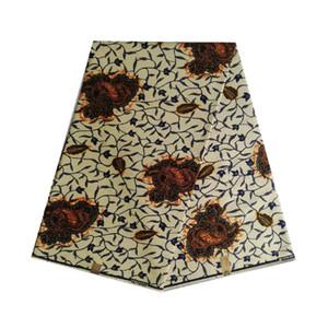 Afrika kadın elbise kumaş giysisi yumuşak V-L 654 Afrika balmumu% 100 pamuk 6yards / adet Ankara Hollanda blok baskı kumaş