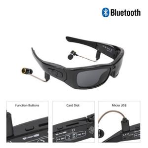 النظارات الشمسية الكاميرا مع كاميرا بلوتوث الصوت وتسجيل الفيديو ستيريو نظارات واسعة الزاوية 120 درجة 1080P الرياضة في الهواء الطلق النظارات الشمسية HD