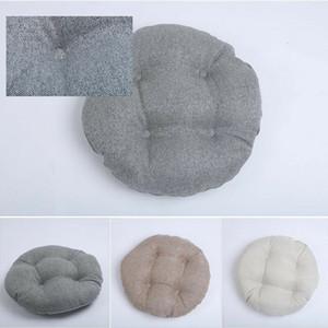 Rotonda cuscino del sedile rilievo Piano futon Mat per Patio Home Auto Ufficio Tatami cuscino