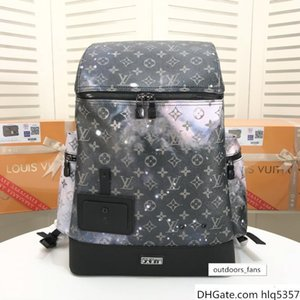 Canvas High Quality Luxury famous Backpack Designer lady backpacks Bags women men back pack(32 50 X 17)M44174 wo