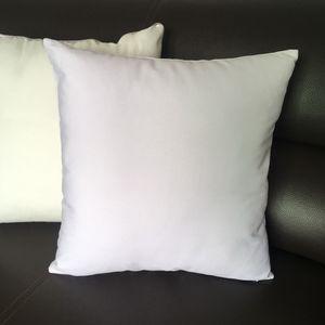 45x45 CM Plain White Canvas Подушка Обложка подушка обложка чехол Пробелы Plain White 100% хлопок Подушка КОТБ Обложка для краски