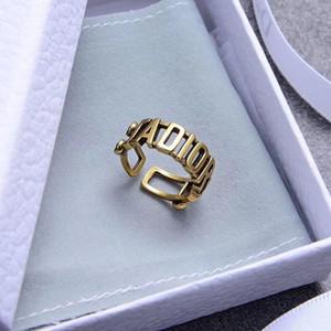 2020 mariage en laiton anneaux ensembles anneaux de luxe en laiton pour l'image réelle bague design de style bohême de mariage