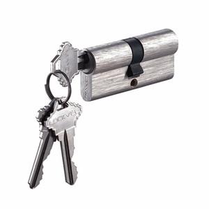 Euro porta cilindro de bloqueio de alta qualidade / Alta Segurança Europa Cilindro Door Lock / Euro Perfil Latão Master Key canhão da fechadura com maçaneta da porta