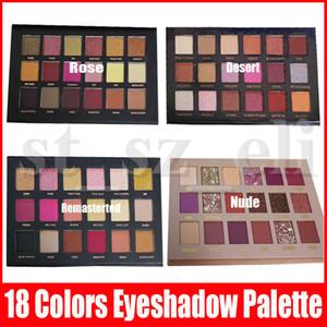 Марка Глаза Тени для век Палитра макияжа 18 цветов Блеск Shimmer Matte тени для век Косметика Palette