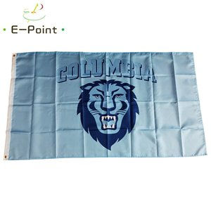 Flag of NCAA Columbia Lions Newly polyester Flag 3ft*5ft (150cm*90cm) Flag Banner decoration flying home & garden outdoor gifts